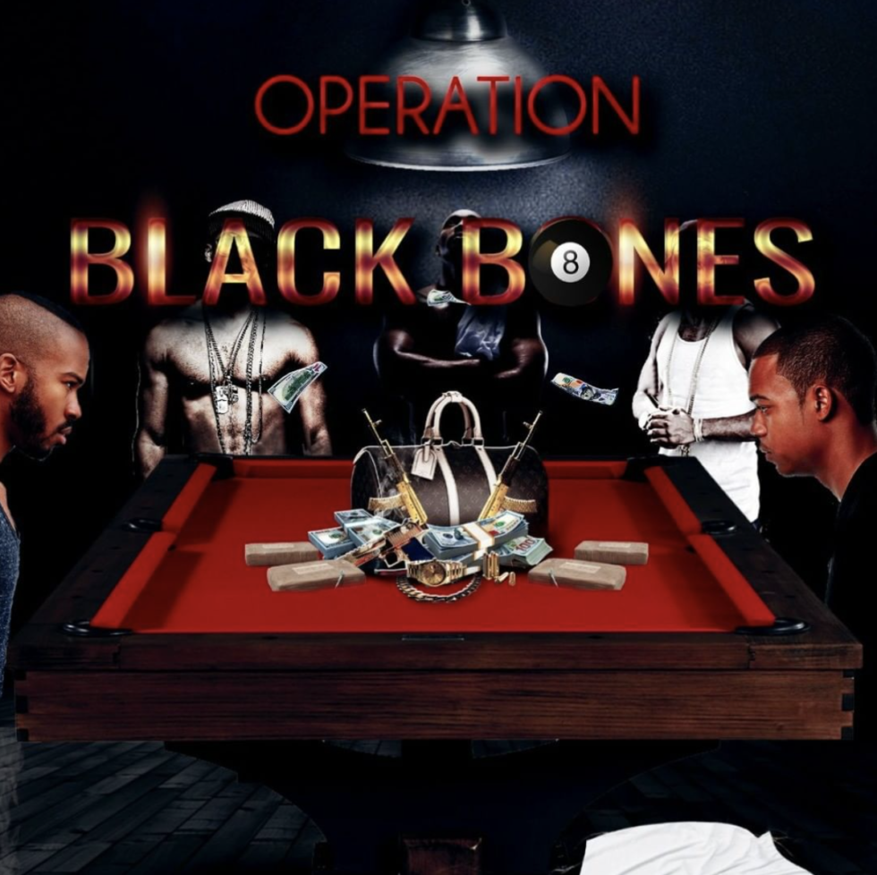 Photo of Operation Black Bones book cover